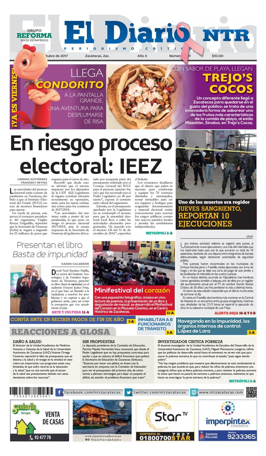 0bb67a3bf2535 13102017 by NTR Medios de Comunicación - issuu