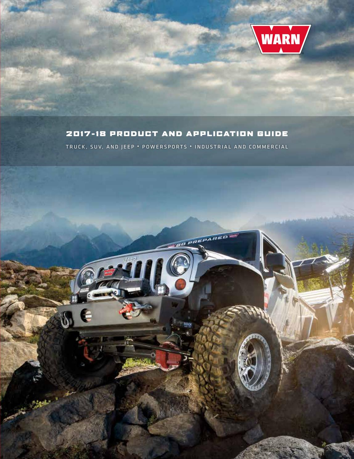 Warn 2017 productguide by N.E. Ringsted ApS - issuu Warn Winch Wiring Diagram on