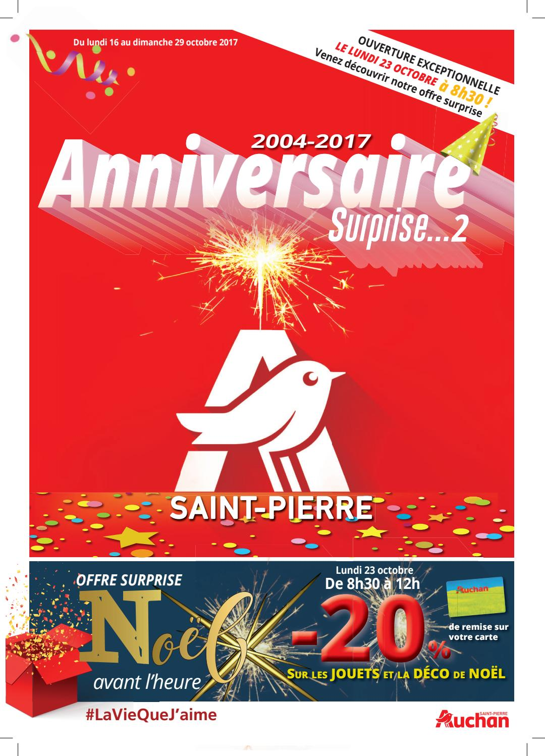 Catalogue Auchan Saint Pierre Du 16 Au 29 Octobre 2017 By