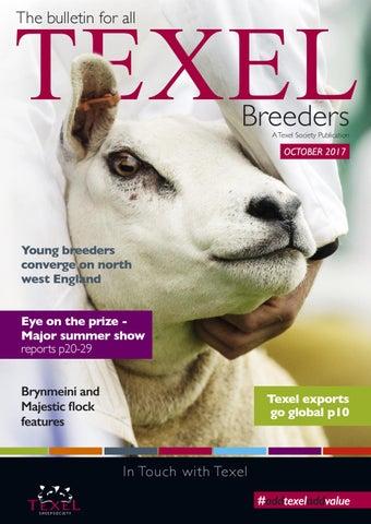 3d17a2a9 Texel Sheep Society Autumn Bulletin 2017 by Texel Sheep Society Ltd ...