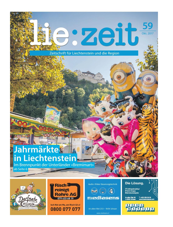 lie:zeit Ausgabe 59 by Medienbüro Oehri & Kaiser AG - issuu