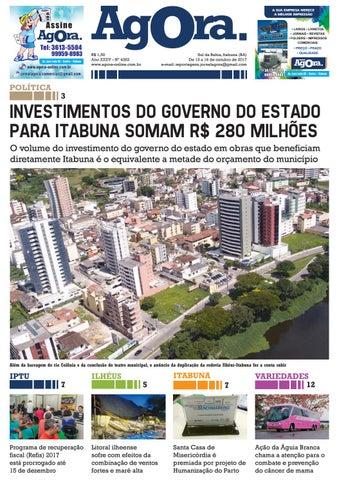 Jornal Agora Nº 4352 - De 13 a 16 de outubro de 2017 by Jornal Agora ... 2fdb50562d
