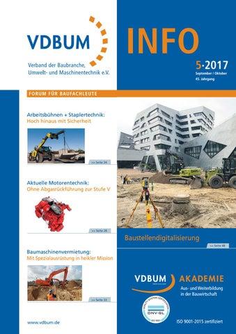 VDBUM INFO 5-2017 by VDBUM INFO - issuu