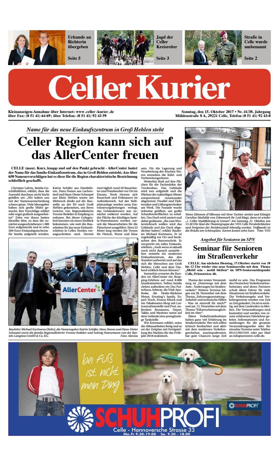 3e7869b79a6c KW41 Celler Kurier Ausgabe Sonntag by Celler Kurier - issuu