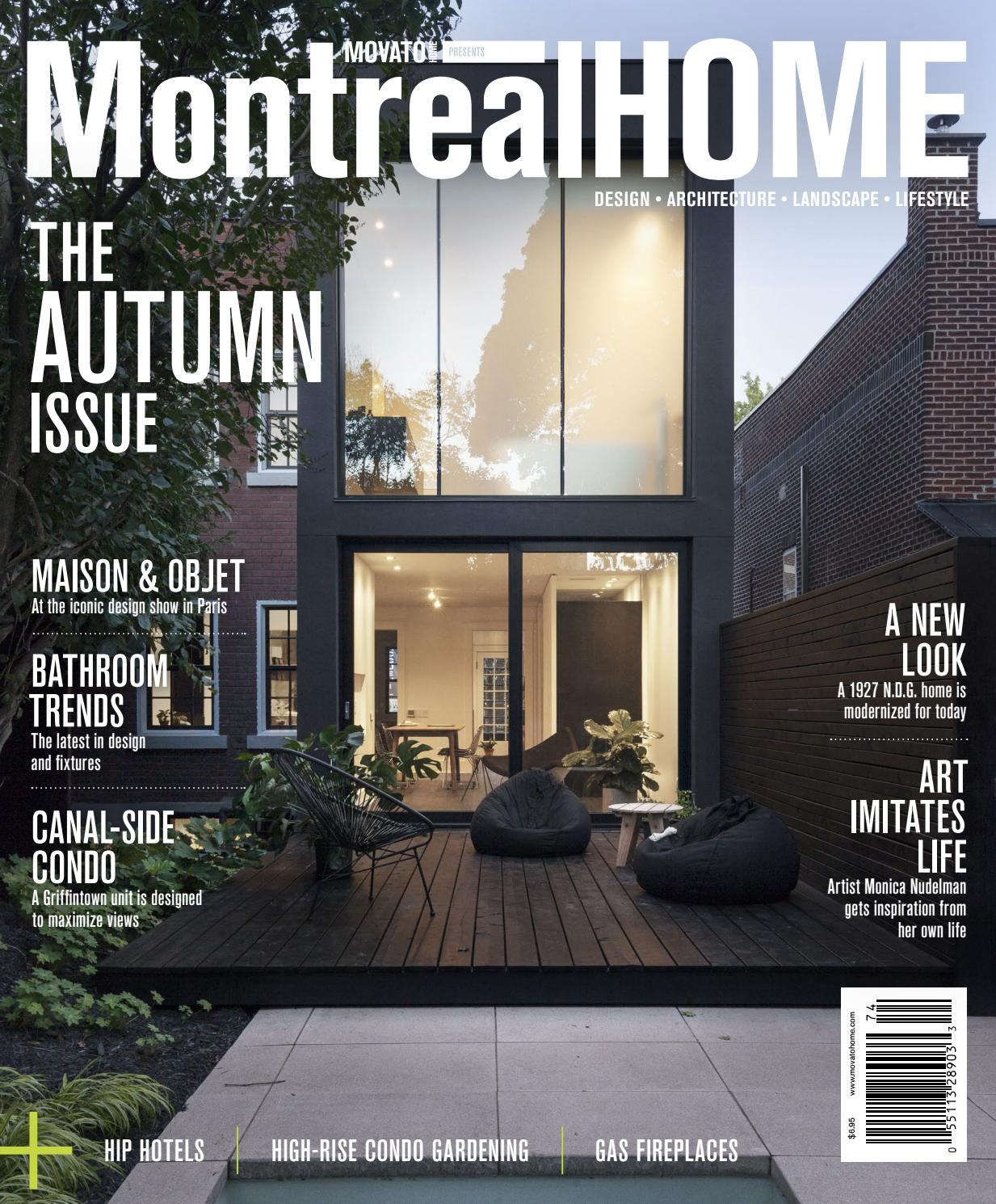 Interior Designers Of Canada: Montreal Home - Autumn 2017 By Home In Canada