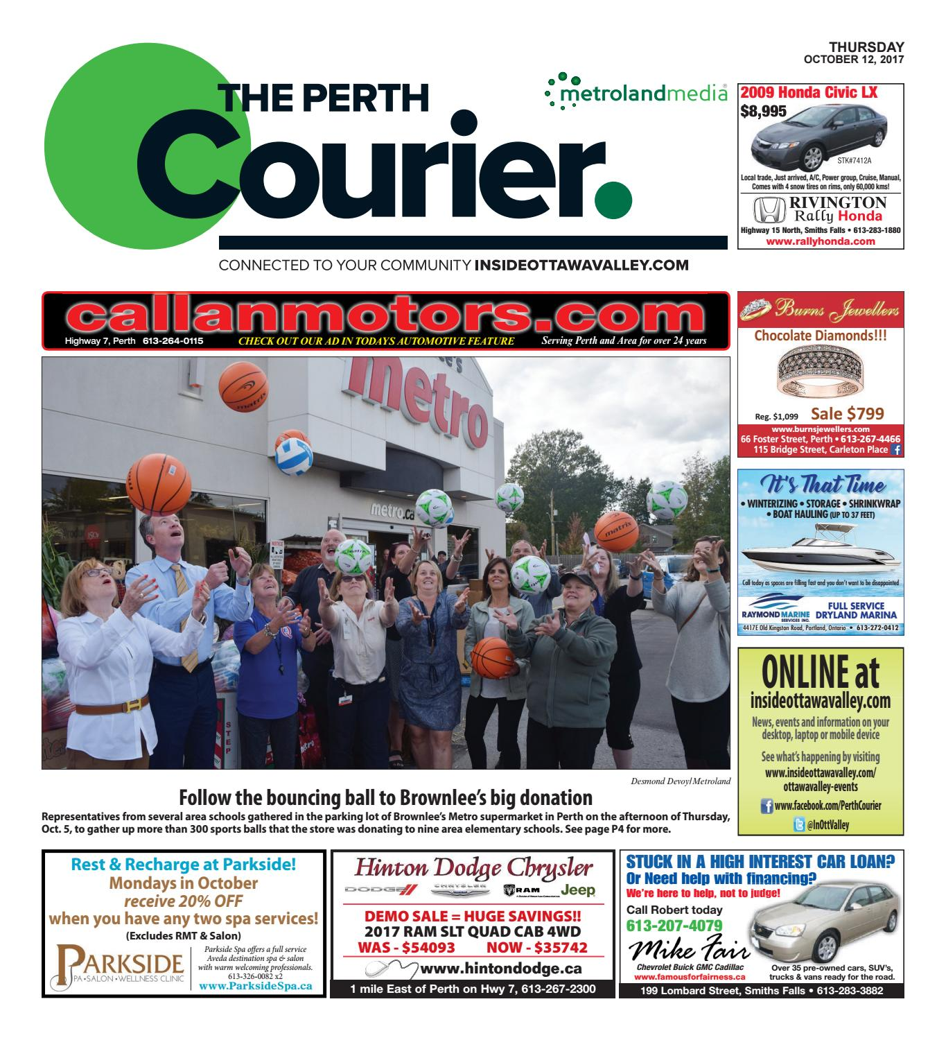 Perth101217 By Metroland East The Perth Courier Issuu