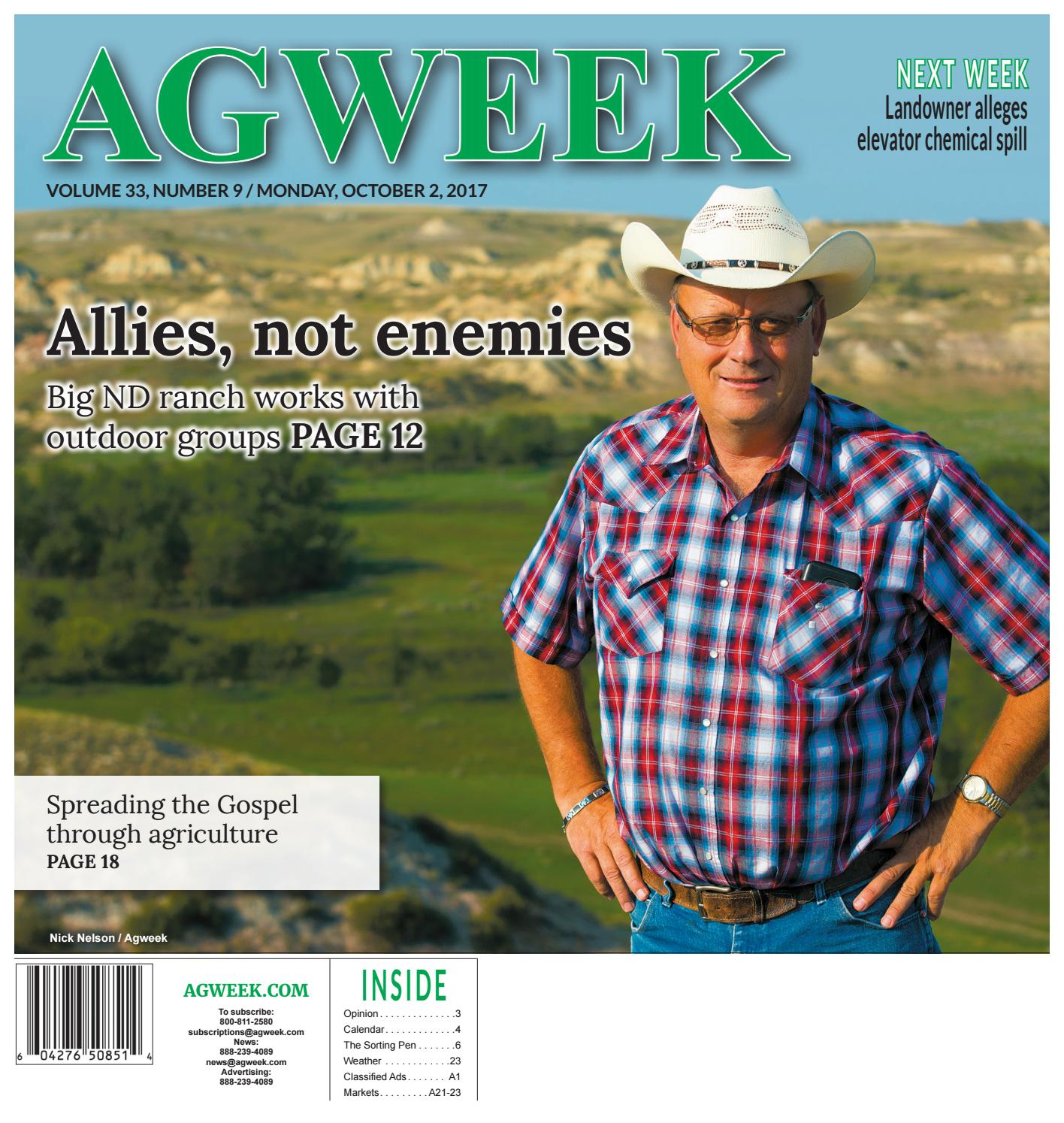 fa88dd991e1e0 Agweek 2017 10 02 by Prairie Business Magazine - issuu