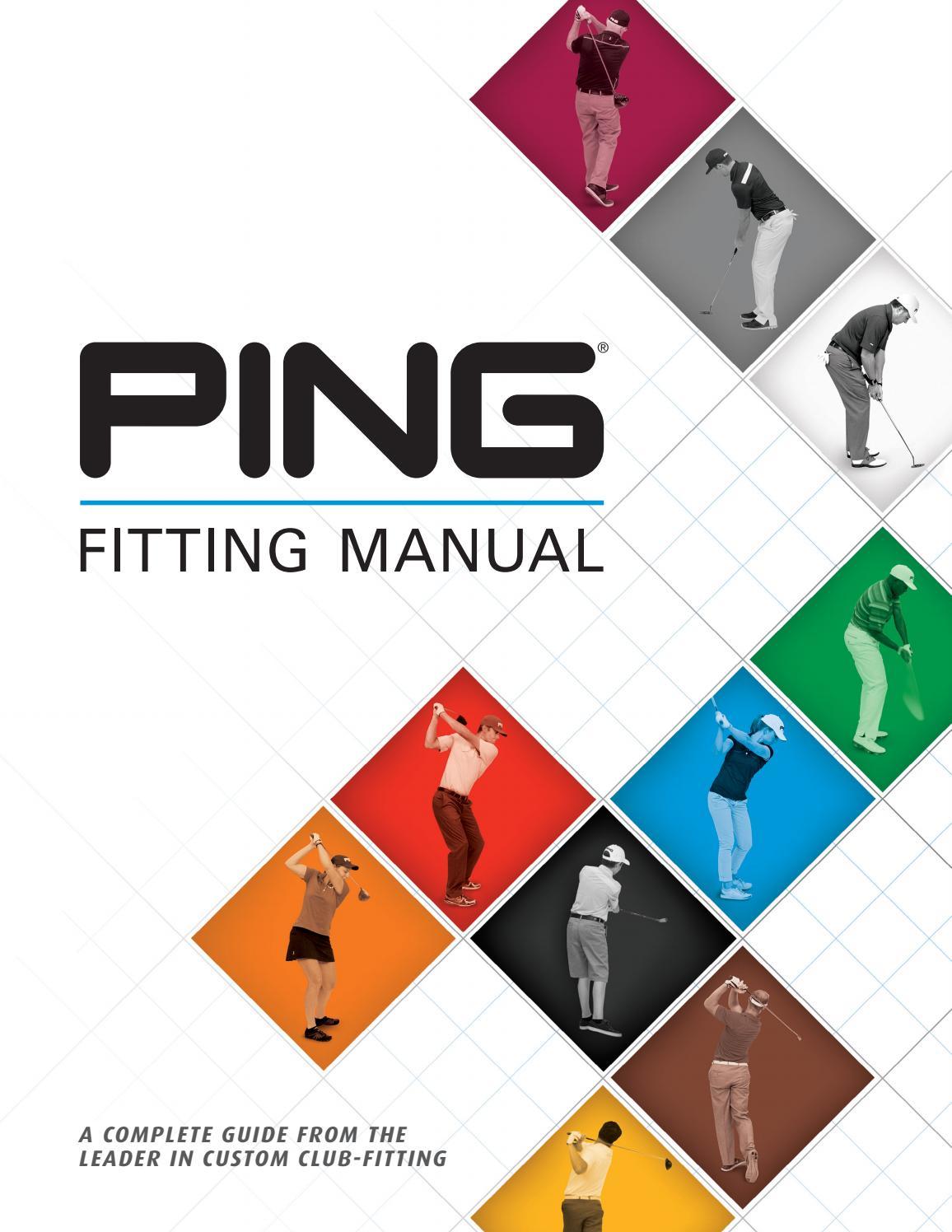 Ping fitting manual 2017 by ping europe ltd issuu nvjuhfo Gallery