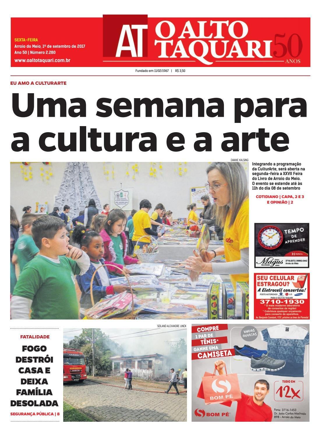 e9e02d4c8 Jornal O Alto Taquari - 1º de setembro de 2017 by Jornal O Alto Taquari -  issuu