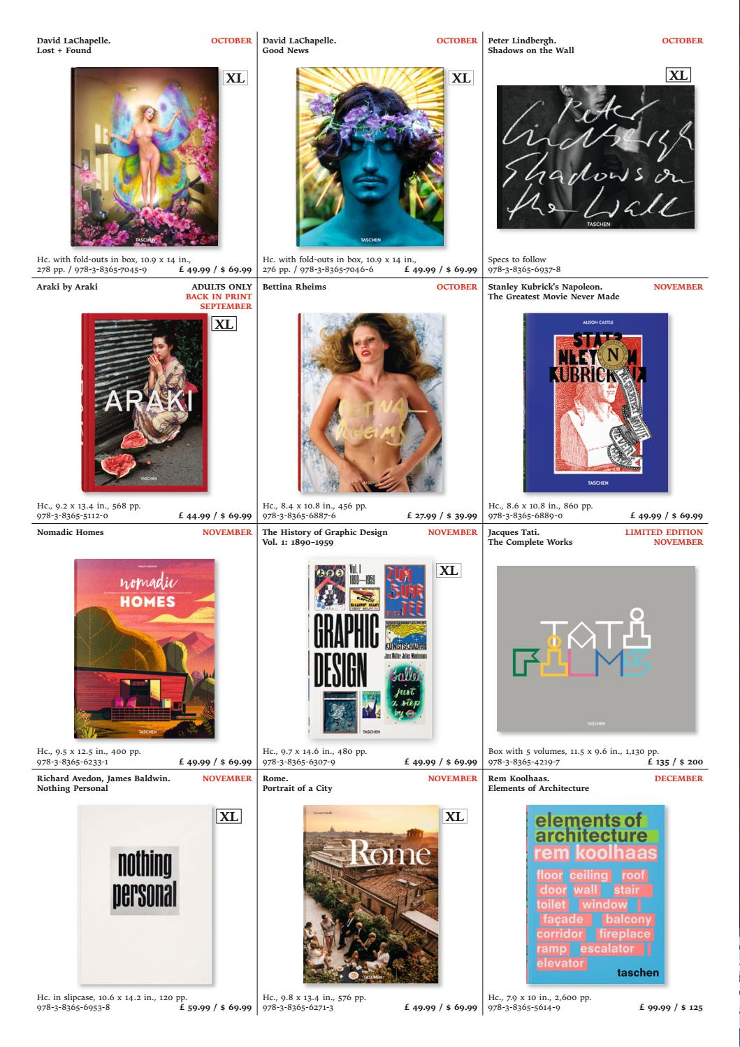 Version Taschen Fallwinter Titles All 2017gbp PiOkXZu