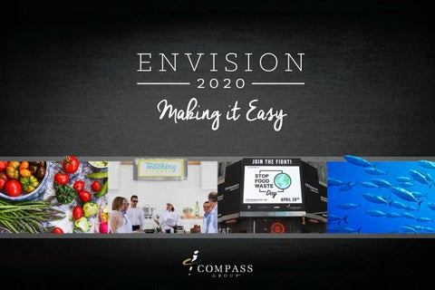 Envision 2020 Brochure by Compass Group USA - issuu