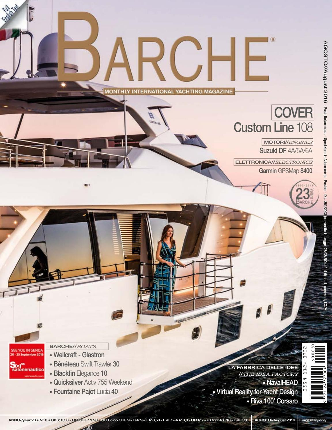 Barche August 2016 by INTERNATIONAL SEA PRESS SRL - BARCHE - issuu bdae91dd55a