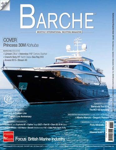 Barche SEPTEMBER 2016 by INTERNATIONAL SEA PRESS SRL - BARCHE - issuu db6f50df8f18