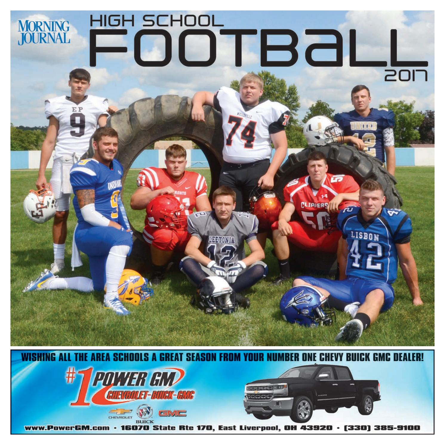 Morning Journal High School Football 2017 by Morning Journal issuu