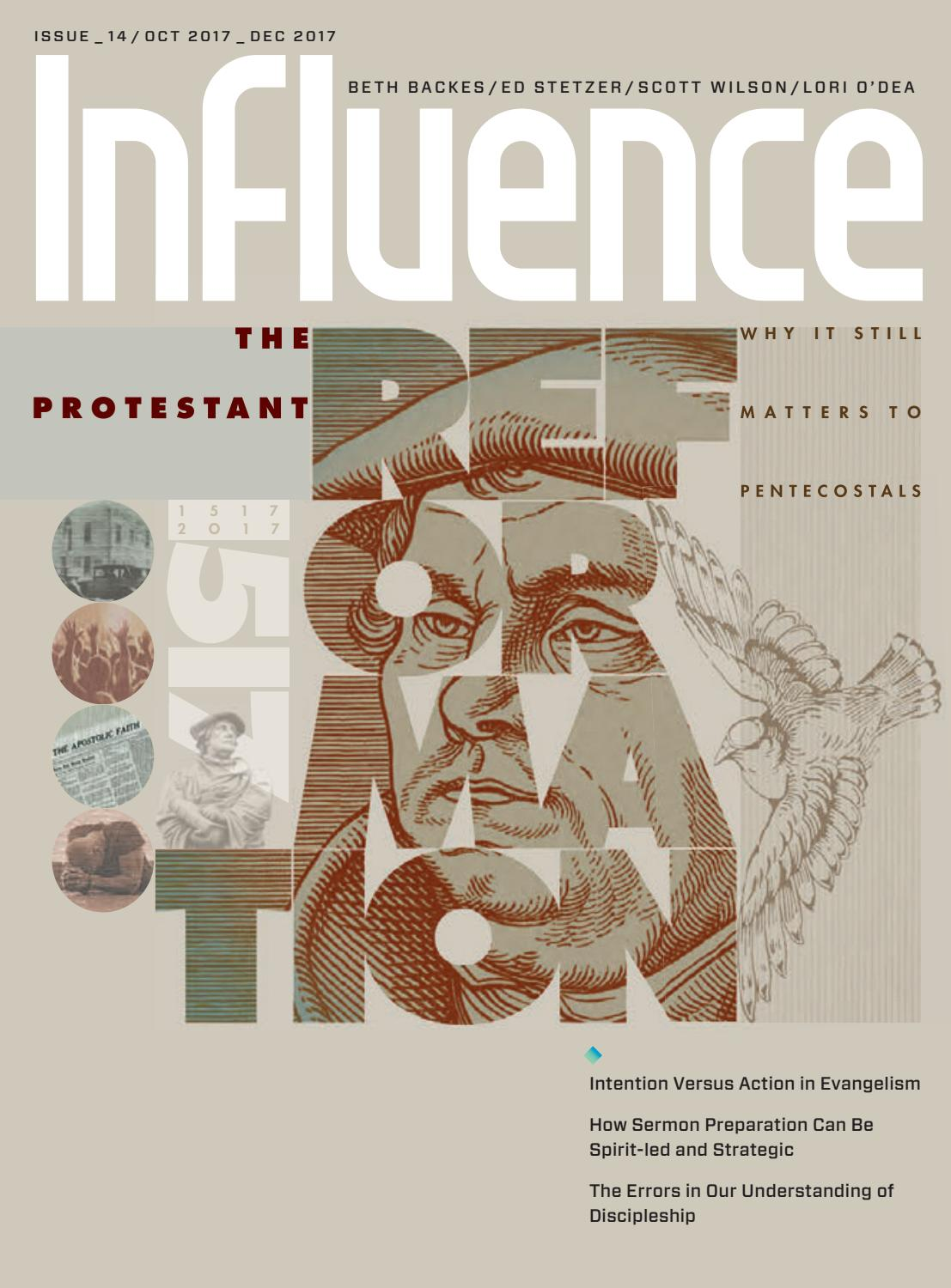 The Protestant Reformation By Influence Magazine   Issuu