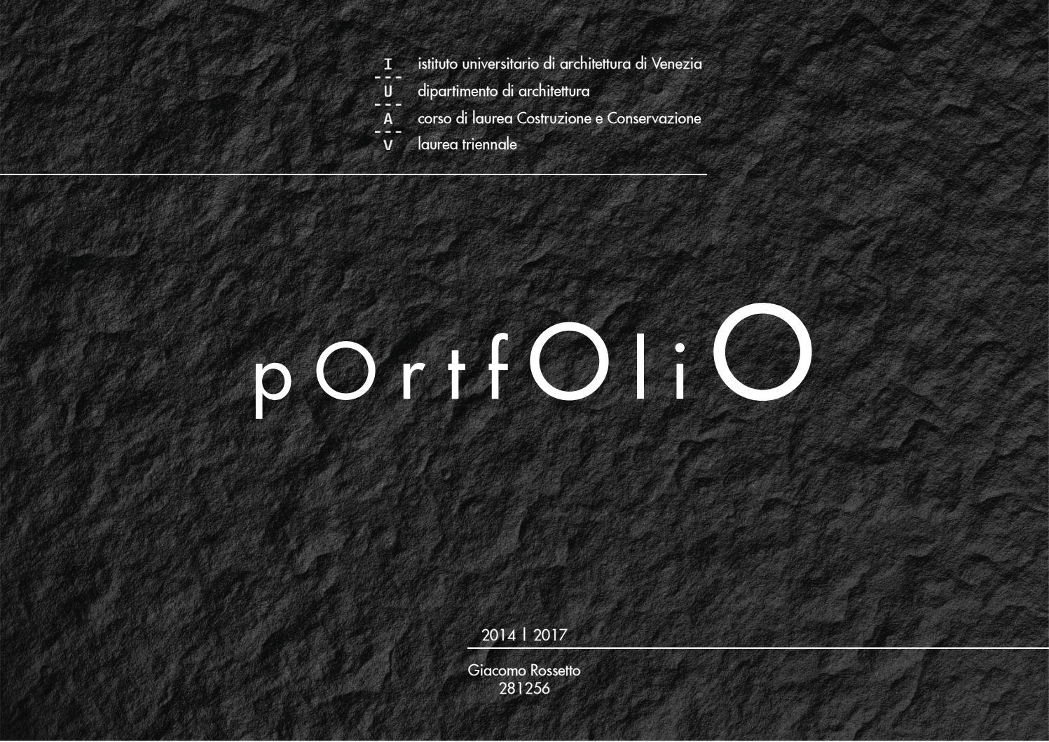 Portata Solaio Anni 60 bachelor degree in architecture portfolio by giacomo