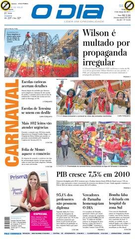 f0fa966e7b Jornal O Dia Nº 16.433 by Portal Academia do Samba - issuu