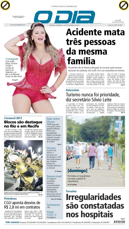 d5ded03ff Jornal O Dia Nº 16.781 by Portal Academia do Samba - issuu