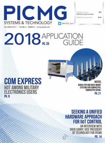 PICMG Systems & Technology with Application Guide Fall/Winter 2017