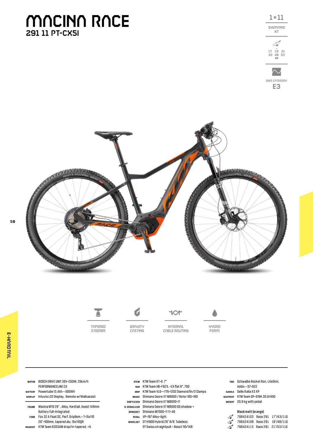 54dafb75b Catalogo KTM bikes   e-bikes 2018 by BikeMTB.net - issuu