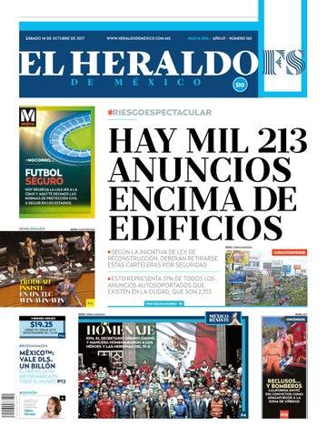 El Heraldo de México 14 de octubre de 2017 by El Heraldo de México ... f545d681bca93