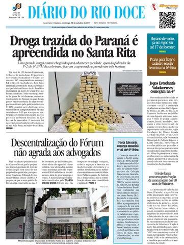 Diário do Rio Doce - Edição de 15 10 2017 by Diário do Rio Doce - issuu 1374ca442e67a