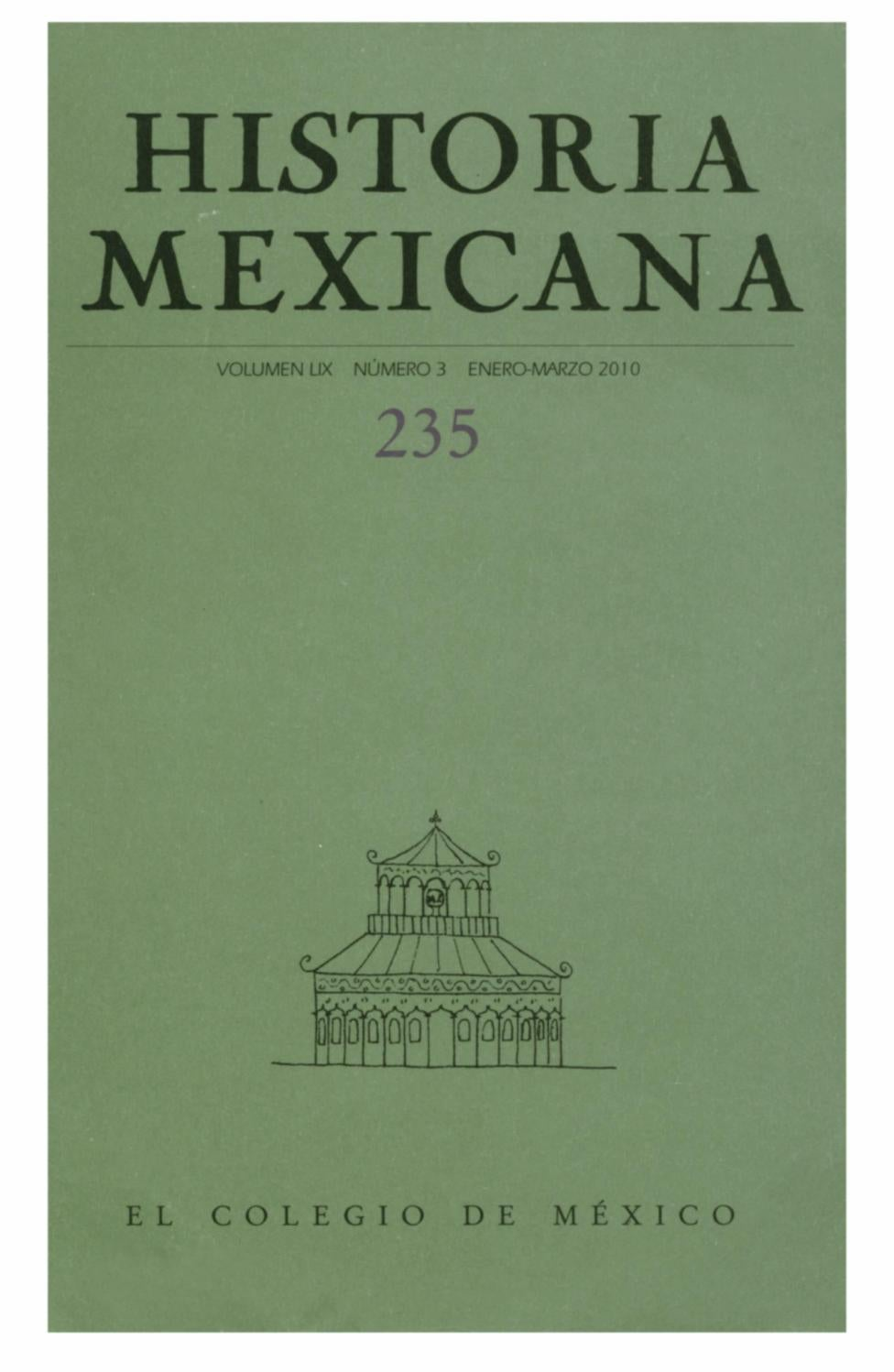 Historia mexicana 235 volumen 59 número 3 by Ce Ocelotl - issuu