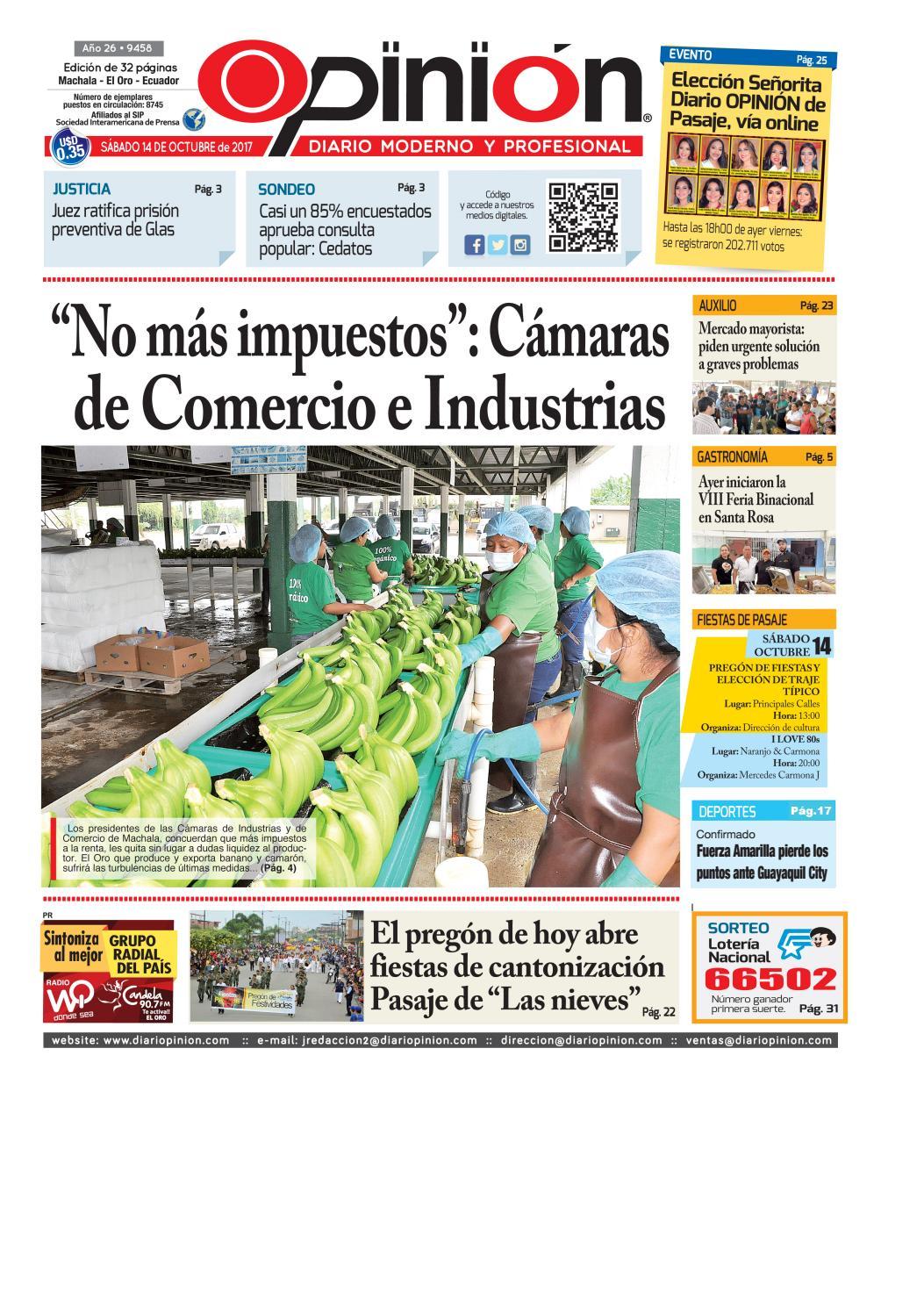Impreso 14 10 17 by Diario Opinion - issuu 3b92195ea245
