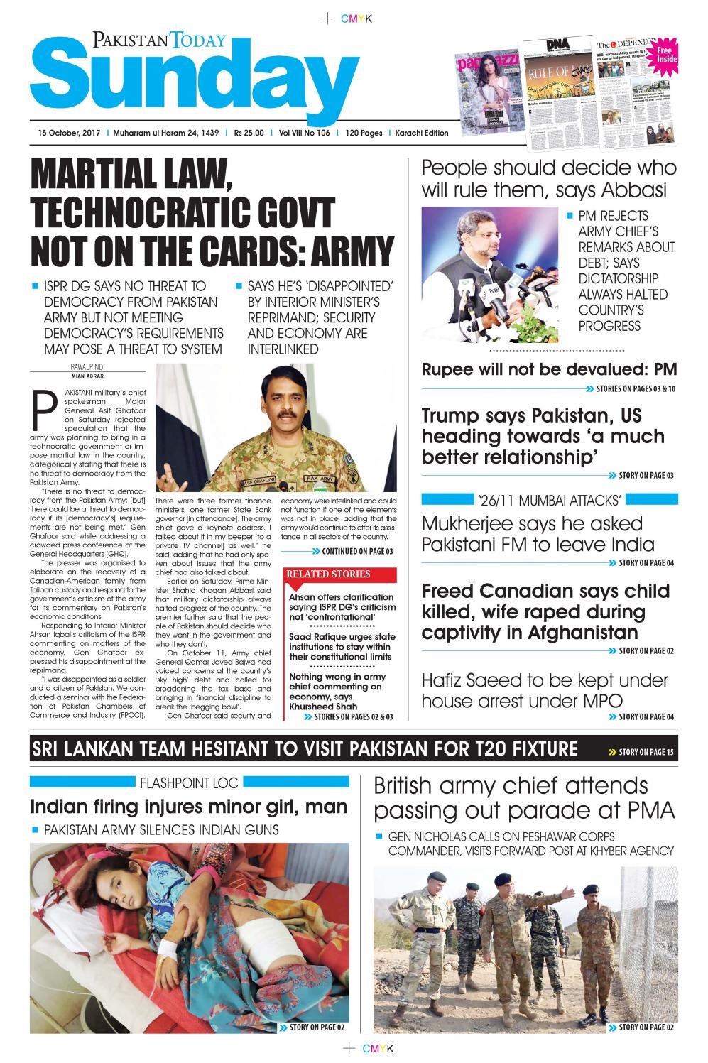 E paper pdf 15th october (khi) by Pakistan Today - issuu