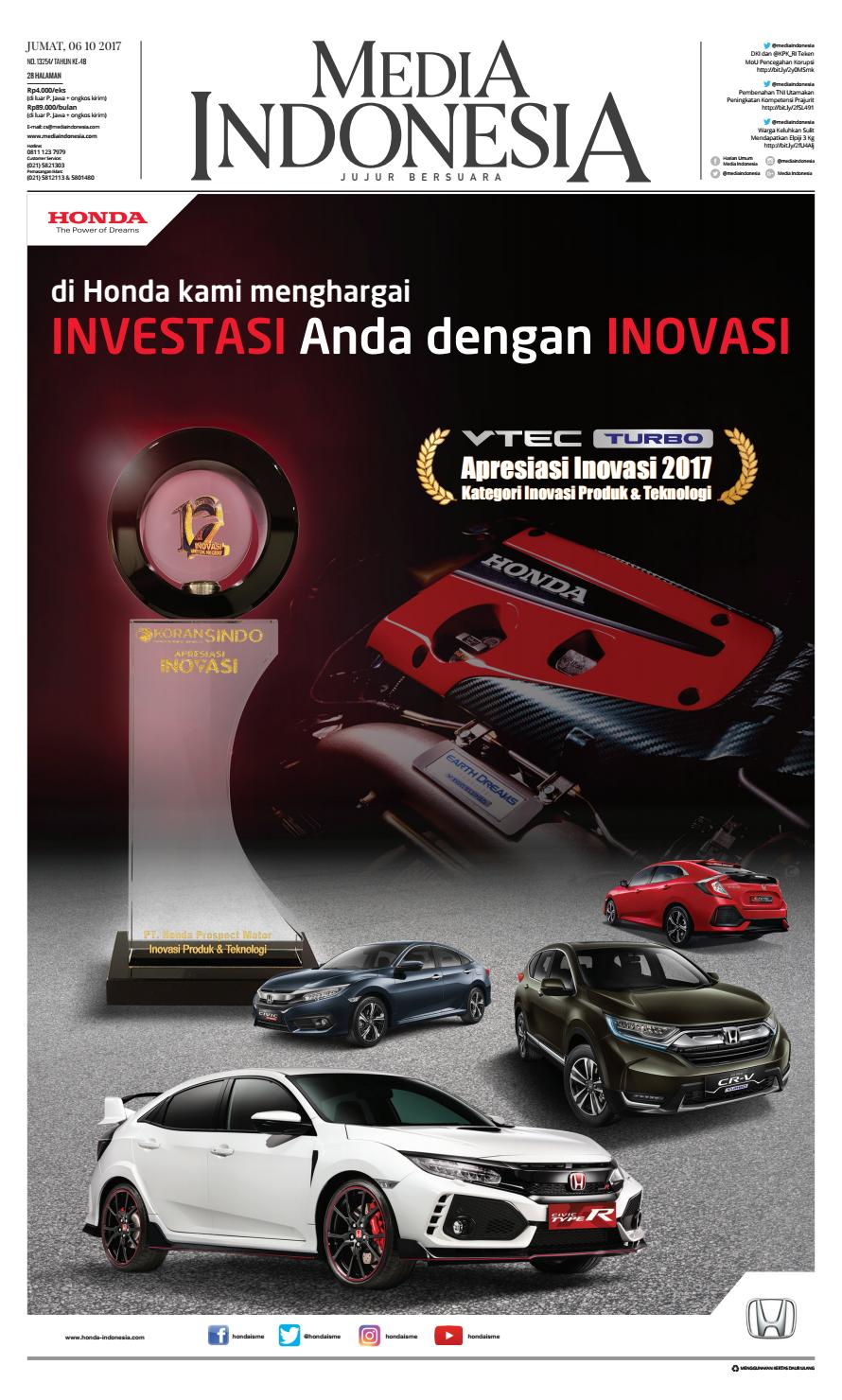 Media Indonesia 18 12 2017 18122017050406 By Oppah Issuu Produk Ukm Bumn Baterai Abc Alkaline Aa Mediaindonesia 06 10 06102017015828
