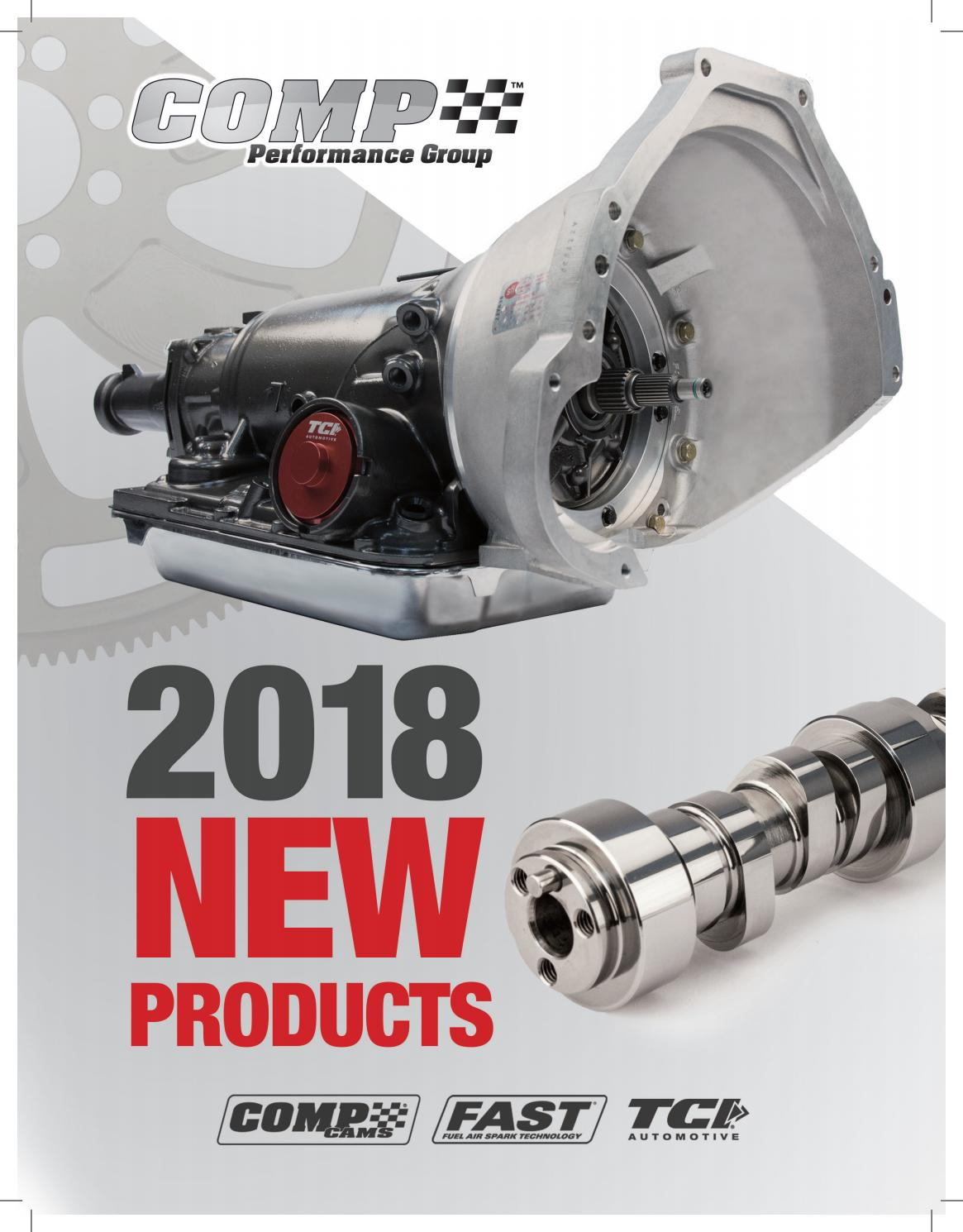 2018 Cpg New Products Brochure By Comp Performance Group Issuu Standalone Wiring Harness Lt1 700r4 For Sale