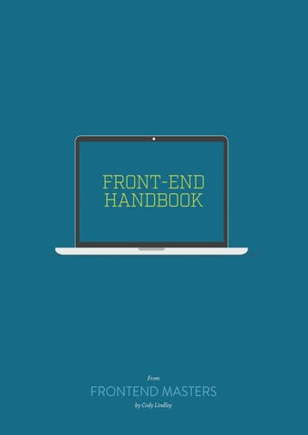 Front end handbook by designerashish - issuu
