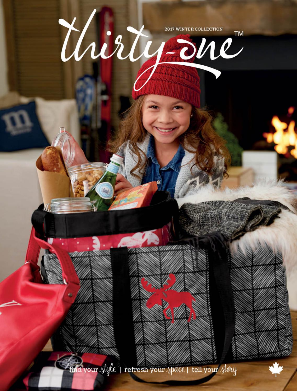 Thirty-One Winter Catalog 2017