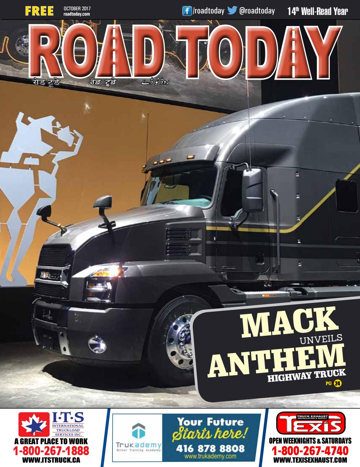 Road Today October 2017 by Road Today - issuu