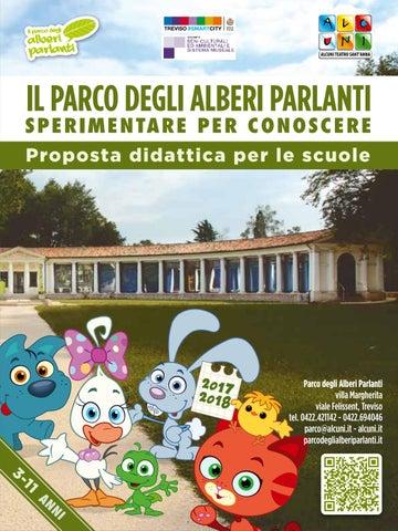 Parco degli alberi parlanti programma per le scuole infanzia e