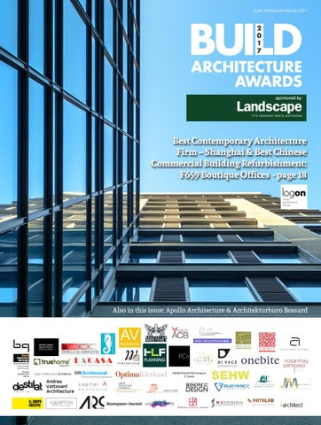 c74ff7678452 BUILD Architecture Awards 2017 by AI Global Media - issuu