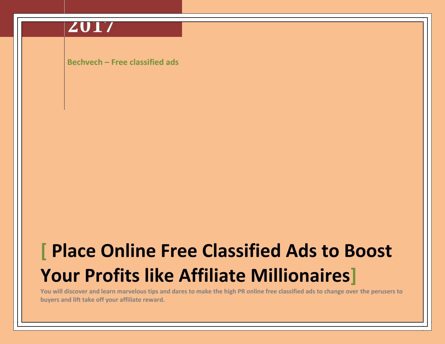 Affiliate millionaires