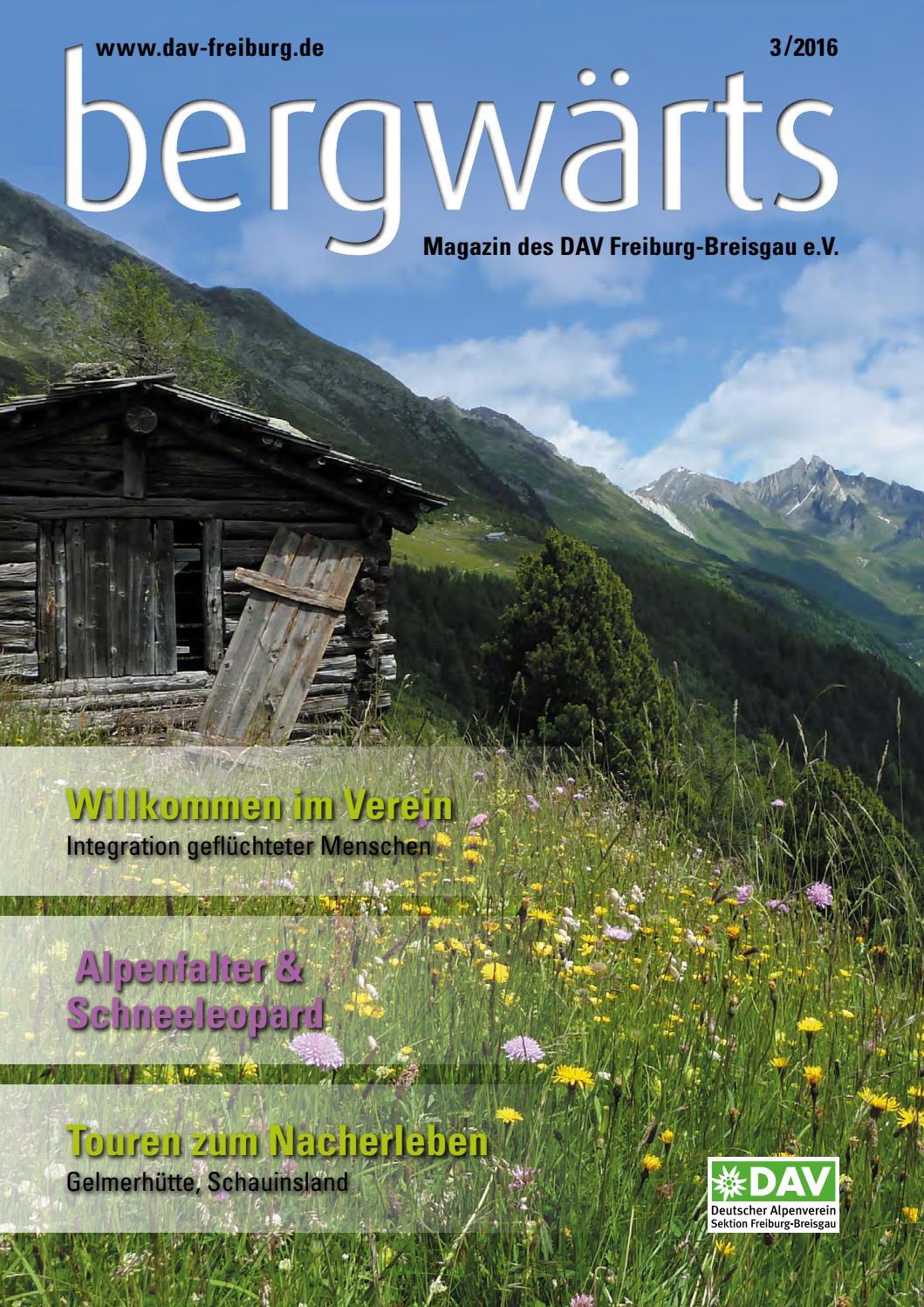 bergwärts Ausgabe 3-2016 by bergwaerts - issuu
