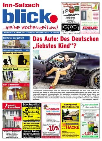 Inn Salzach Blick   Ausgabe 41 | 2017 By Blickpunkt Verlag   Issuu