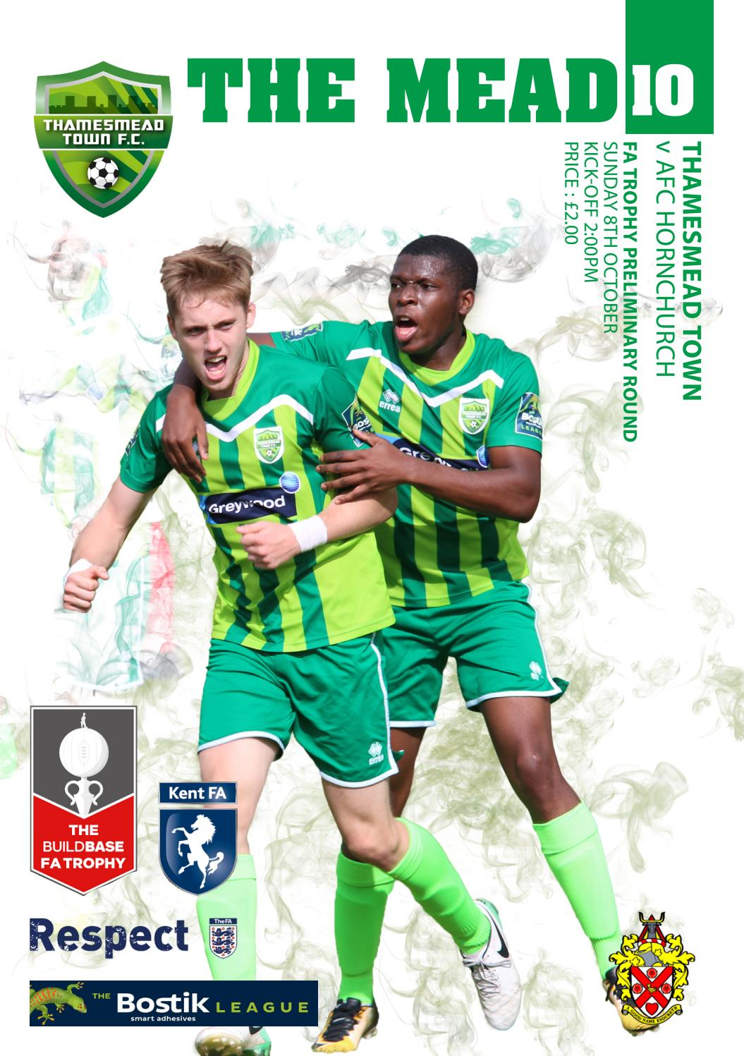 91c28f1d82 Thamesmead Town vs AFC Hornchurch by Jamie Barwick - issuu