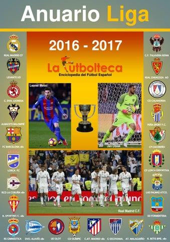 c60ca1d78046b Anuario Liga 2016-2017 LaFutbolteca by LaFutbolteca - issuu