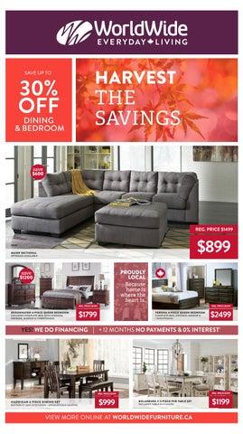 WorldWide Furniture · Harvest The Savings