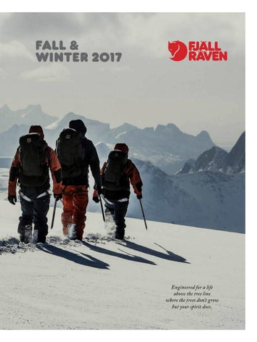 e4023ff3ae9d50 Fjällräven Catalogue winter 2017.18 by MountainBlogIT - issuu