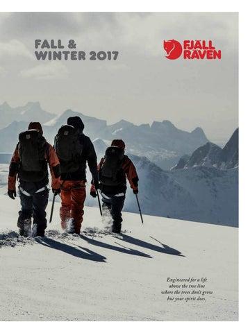 6fe8b18b Fjällräven Catalogue winter 2017.18 by MountainBlogIT - issuu