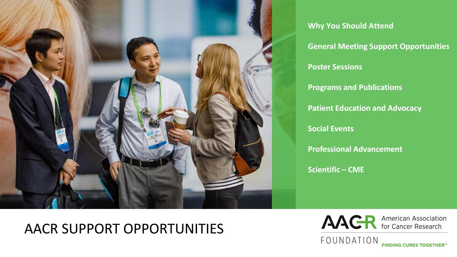 Aacr Sponsorship Opportunities By Aacr Issuu