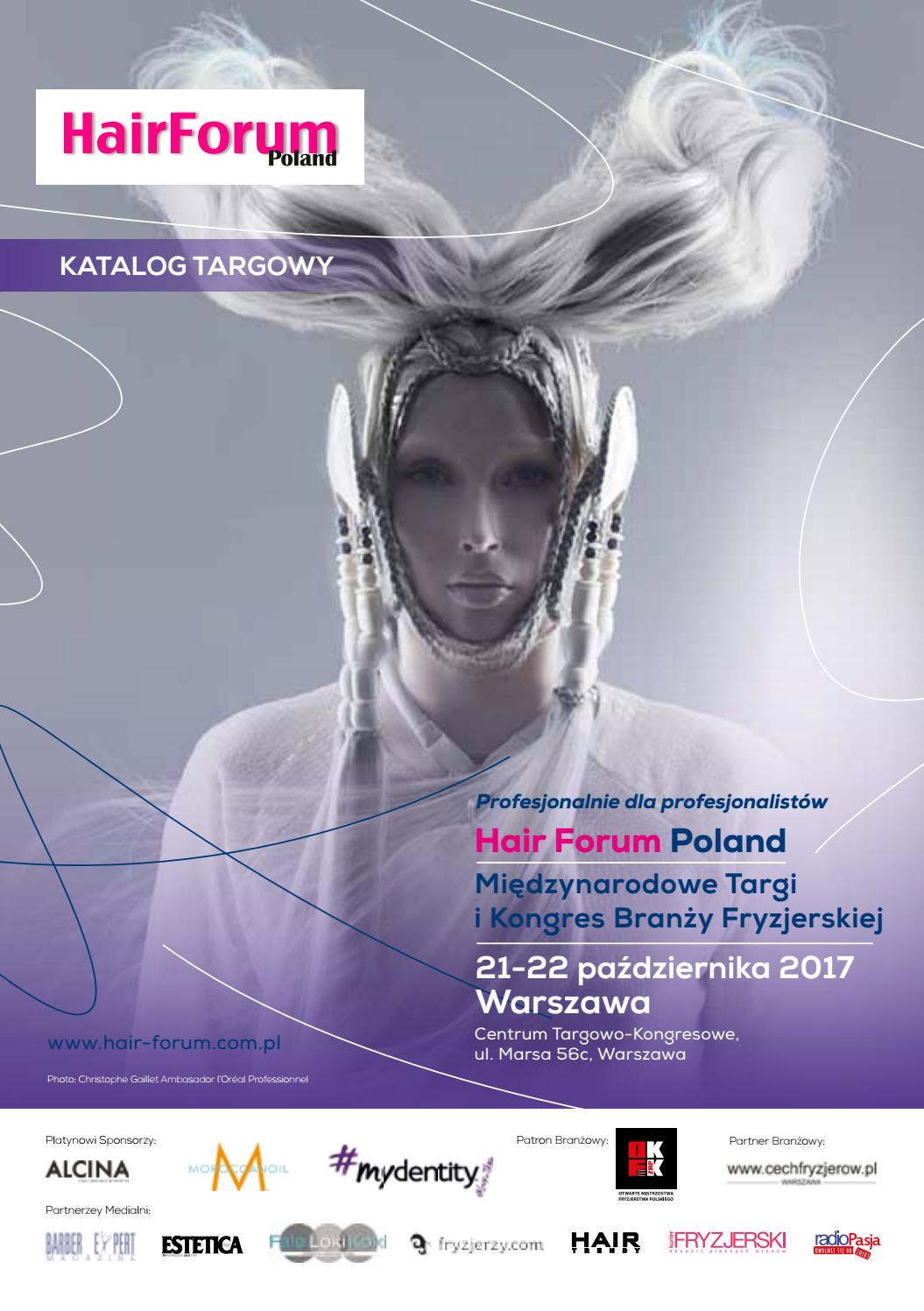 Katalog Hair Forum 2017 By Kamila Jadwicka Issuu