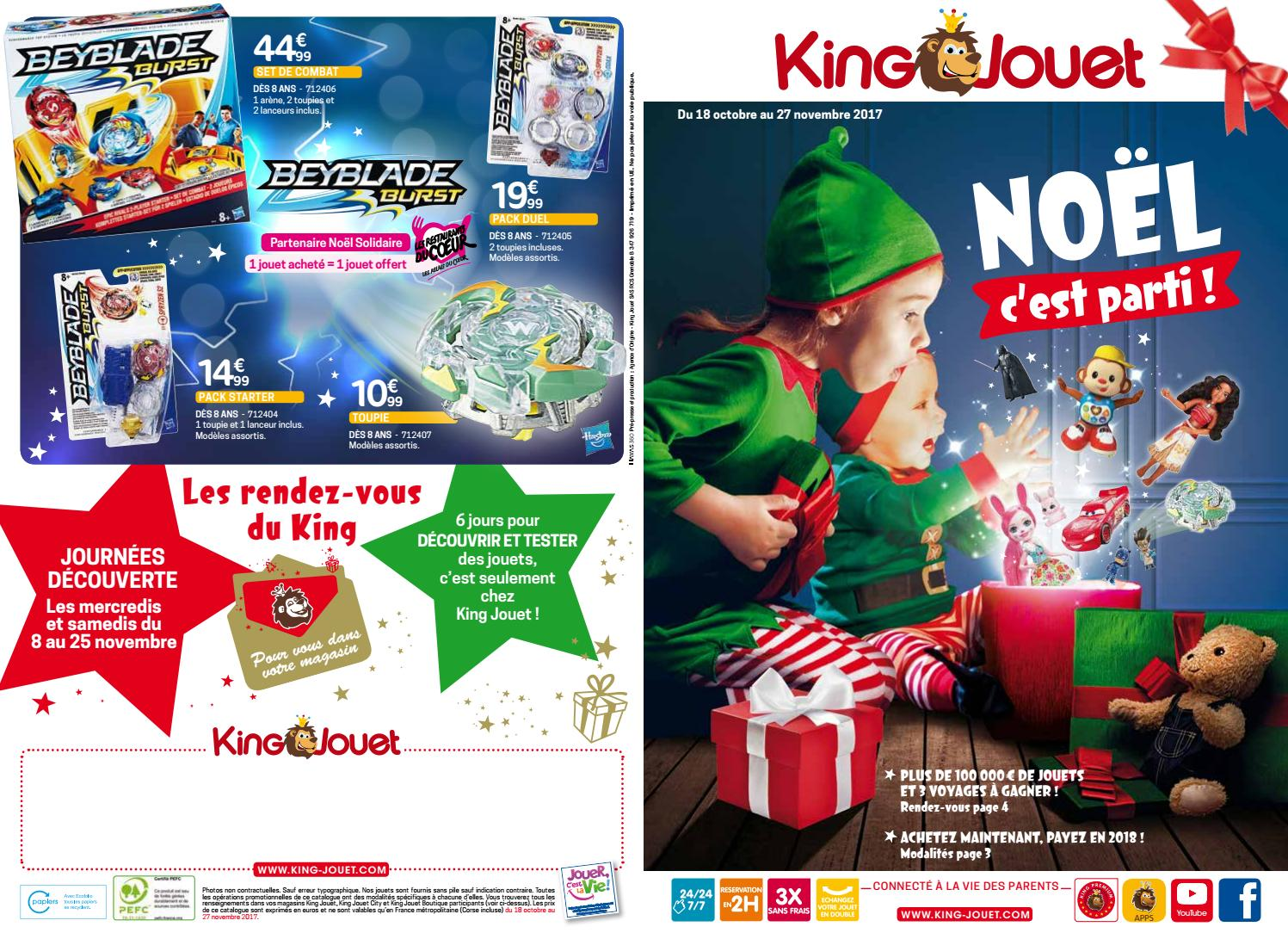 Noël King Issuu Jouets Yvernault 2017 By Jeux Catalogue Et Jouet bf6yI7gvYm