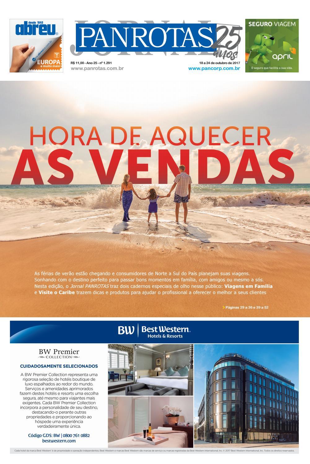 Jornal PANROTAS 1.291 by PANROTAS Editora - issuu e23bcdc4773d9