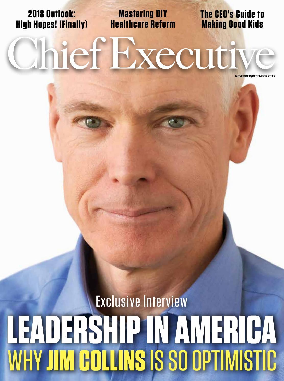 November/December 2017 Chief Executive Magazine by Chief