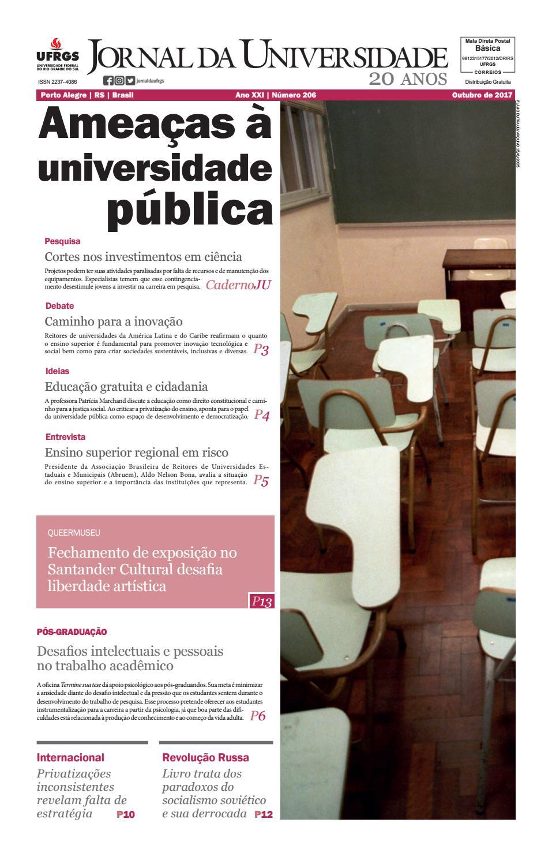 288305bb7 Jornal da Universidade by Universidade Federal do Rio Grande do Sul - issuu